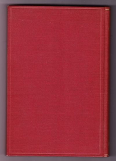 Cambridge: Harvard University Press, 1933. First US edition, first prnt. Full cloth with gilt letter...