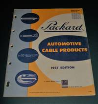 image of Packard Automotive Cable Products Catalog 1957 edition