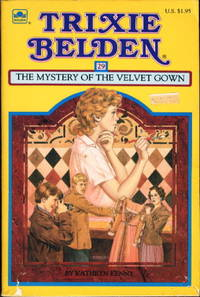 image of TRIXIE BELDEN: THE MYSTERY OF THE VELVET GOWN, #29.