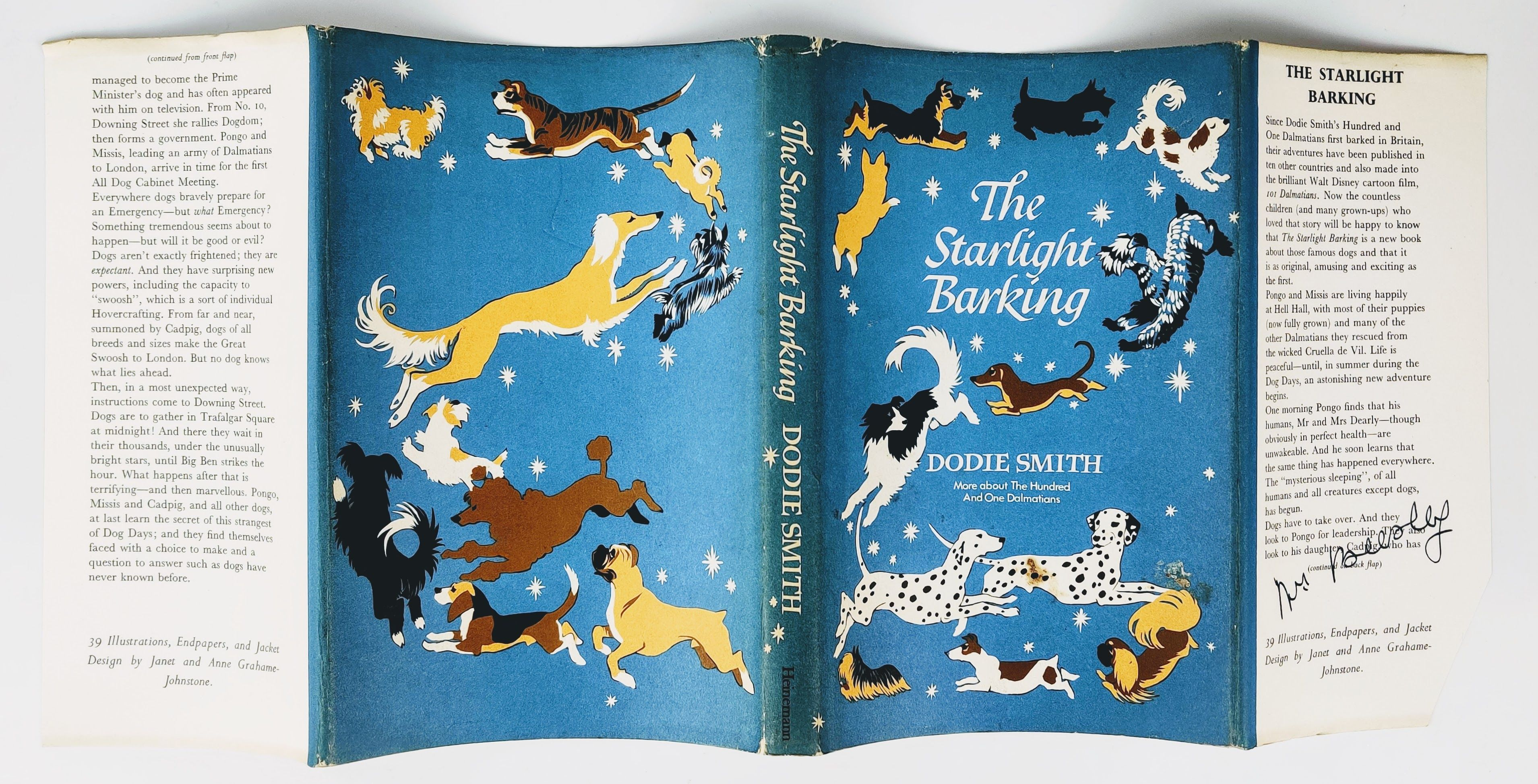 The Starlight Barking: More About The Hundred and One Dalmatians - Signed, Inscribed and Dated by the Author (photo 2)