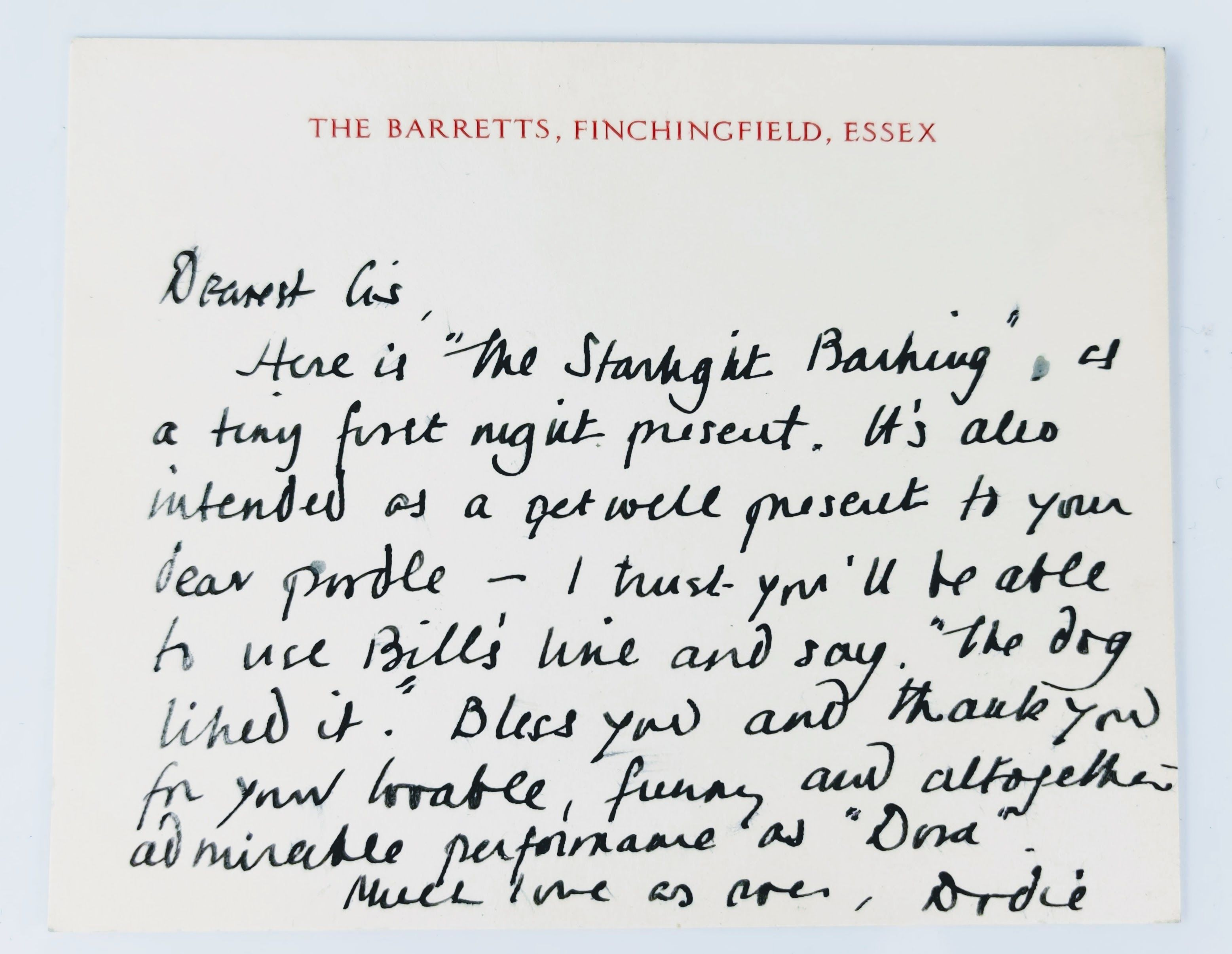 The Starlight Barking: More About The Hundred and One Dalmatians - Signed, Inscribed and Dated by the Author (photo 5)