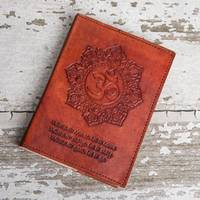 Refillable OM Leather Journal: