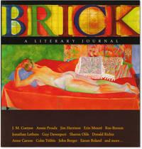 image of Brick, A Literary Journal.