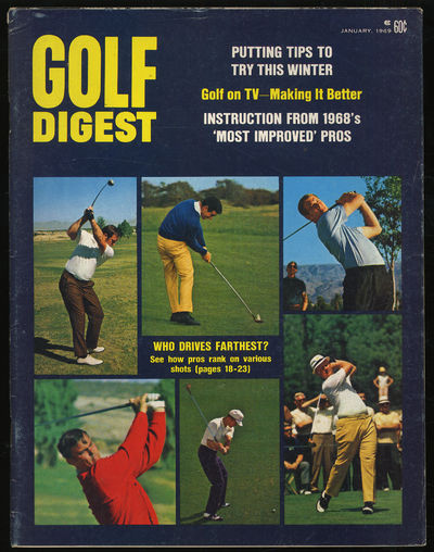 Norwalk, Connecticut: Golf Digest, Inc, 1969. Softcover. Near Fine. First edition. Near fine with li...