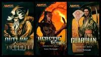 KAMIGAWA CYCLE:  Book (1) (i) One: Outlaw - Champions of Kamigawa; Book (2) (ii) Two: Heretic -...