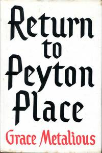Return to Peyton Place by Metalious, Grace - 1960