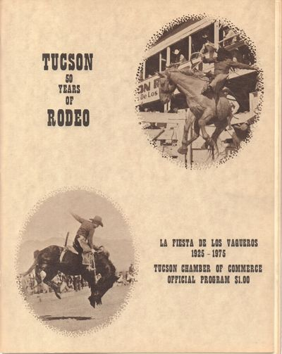 Tucson Chamber of Commerce. Very Good. Softcover. Buff wraps, staple bound. Light wear to edges, els...