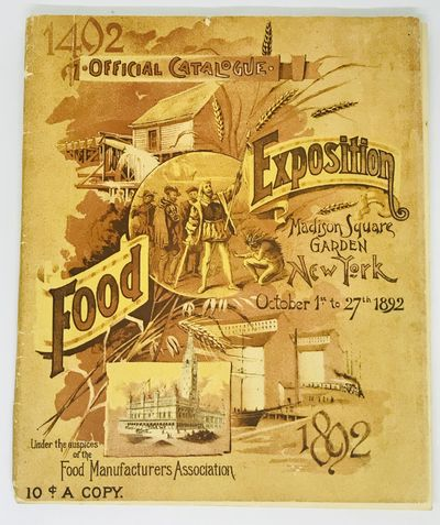 New York: John C. Rankin Company, 1892 . Wraps. Illustrated wraps. Very Good. 64 pages. 24.5 x 21 cm...
