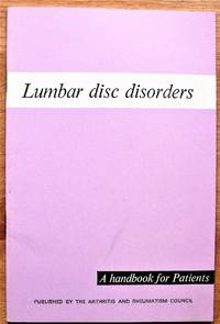 Lumbar Disc Disorders. A Handbook for Patients
