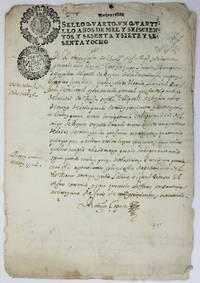 [Manuscript Document Concerning the Indian Census in New Granada]