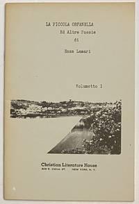 image of La piccola orfanella ed altre poesie: volumetto I.