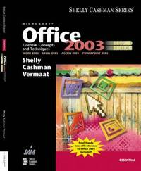 image of Microsoft Office 2003 : Essential Concepts and Techniques