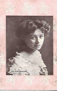 image of Miss Hilda Trevelyan - Edwardian Era Stage Actress on 1910s Postcard