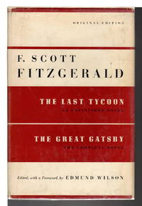 image of THE LAST TYCOON: An Unfinished Novel, together with THE GREAT GATSBY.