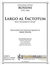 Largo al Factotum (Sax)