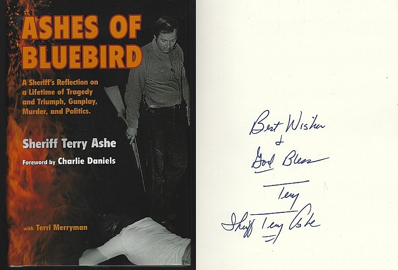ASHES OF BLUEBIRD, Ashe, Sheriff Terry with Terri Merryman