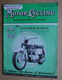 image of Motor Cycling. September 18, 1958.