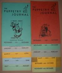 image of PUPPETRY JOURNAL. 17 Miscellaneous Issues and 1963 Membership Directory Puppeteers of America, The.