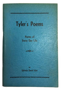 Tyler's Poems: Poems of Every Day Life [cover title]
