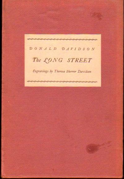 Nashvville: Vanderbilt Univversity Press, 1961. Hardcover. Very good. 92pp. Very good hardback in a ...