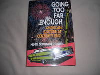 Going Too Far Enough by Henry Southworth Allen - Hardcover - from Rose of Sharon Books (SKU: 8)