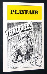 Playfair: Final Weeks, Old Faces of 1984