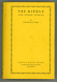 image of THE RIDDLE AND OTHER STORIES
