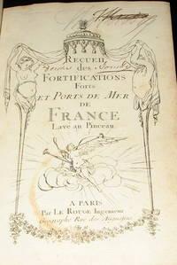 (Atlas, Military Forts- 89 plans): Recueil Des Fortifications Forts et Ports De Mer De France lave Au Pinceau