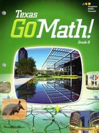 image of Texas Go Math Student Interactive Worktext Grade 8
