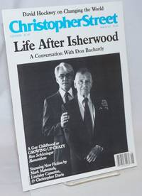 Christopher Street: vol. 10, #4, whole issue #112, June 1987; Life After Isherwood