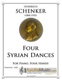 Syrian Dances for Piano Four Hands