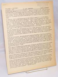 image of H. du B. Reports. Vol. 5, no. 8 (January 1963)