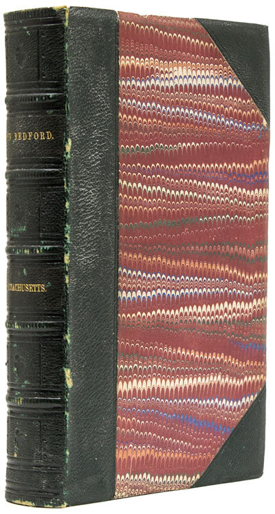 New Bedford, Mass: Published by the Author, 1858. First edition. 412 pp. 1 vols. 8vo. Nineteenth-cen...