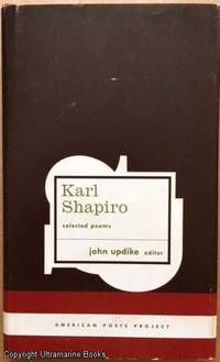 image of Karl Shapiro, Selected Poems