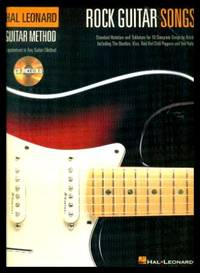 image of ROCK GUITAR SONGS - Guitar Method