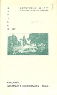 Catalogue 100/1991: Kunstwissenschaft. Kunstgewerbe, Architektur,  Archäologie.