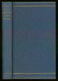 Fifty Romance Lyric Poems by  Richard ALDINGTON - Signed First Edition - 1928 - from Between the Covers- Rare Books, Inc. ABAA (SKU: 38657)