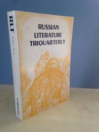 Russian Literature Triquarterly (RLT) Number 4, Fall 1972