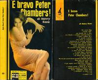 E bravo Peter Chambers! [My Business Is Murder] (Vintage Italian hardcover edition, 1958)