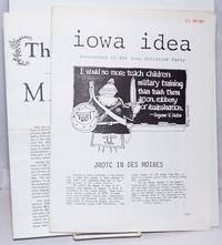 image of Iowa Idea: Newsletter of the Iowa Socialist Party [two issues]