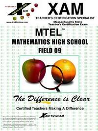 MTEL Math High School 6-12 : Massachusetts Teacher's Certification Exam