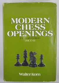 Modern Chess Openings by Korn, Walter