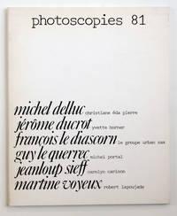 Photoscopies 81 : Michel Delluc, Jérôme Ducrot, François Le Diascorn, Guy le Querrec, Jeanloup Sieff, Martine Voyeux