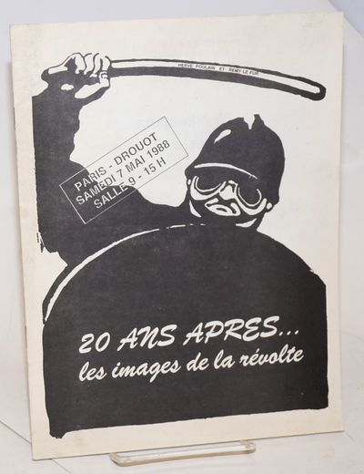 Paris: Drouot, Compagnie des Commissaires-Priseurs, 1988. , staplebound auction catalog for posters ...