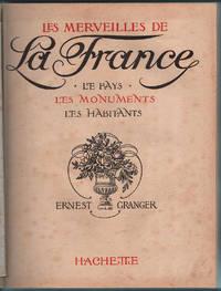 1931 Les Merveilles de la France Ernest Granger Wonders of France Monuments Lux