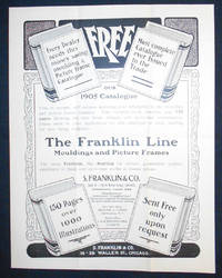 image of The Franklin Line Mouldings and Picture Frames [advertising flyer]