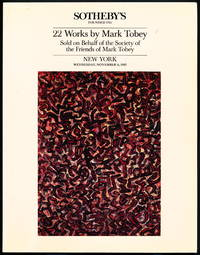 image of 22 (TWENTY-TWO) WORKS BY MARK TOBEY