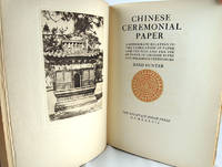 image of Chinese Ceremonial Paper: A Monograph Relating to the Fabrication of Paper and Tinfoil and the Use of Paper in Chinese Rites and Religious Ceremonies