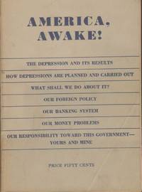 AMERICA AWAKE! by Brumback, Oscar - 1936