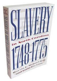 Slavery in North Carolina, 1748-1775
